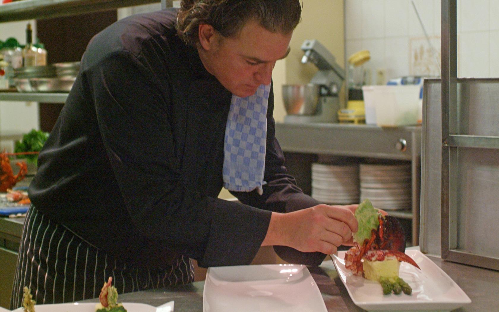 Restaurant - creatieve kookkunst is wat Thierry Fruyt hanteert