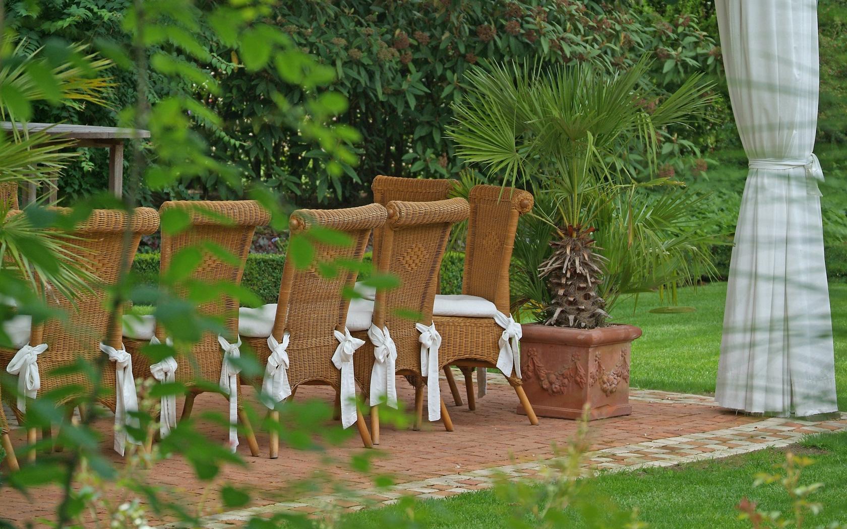 Jardin - Les Salons Roskam à Merelbeke vous acceuillent